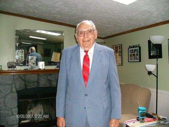 The Rev. Don Chalfant in 2007.