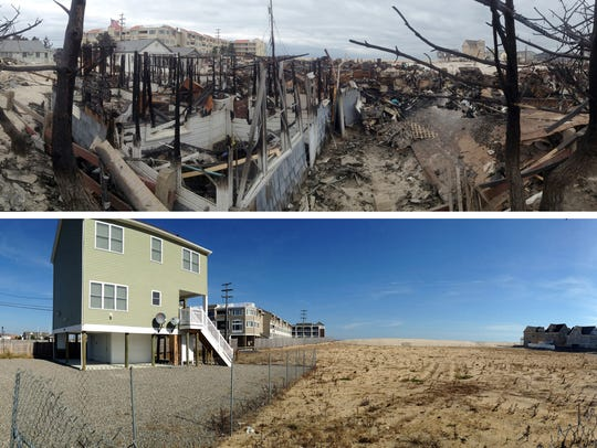 10/21/15 - Sandy Then and Now - The burned out Camp