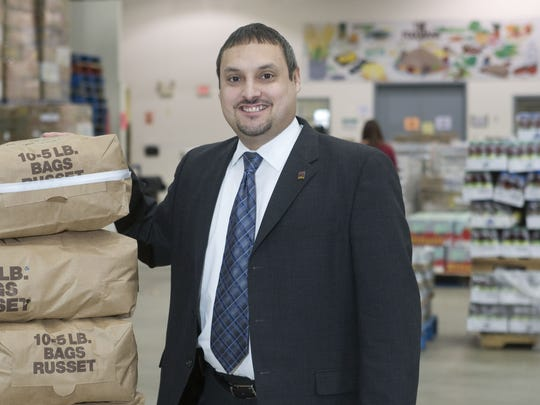 Carlos M. Rodriguez, executive director of Fulfill (formerly the FoodBank of Monmouth and Ocean Counties), is seen in a 2012 file photo.