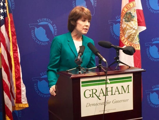 Former Congresswoman Gwen Graham rolls out ethics proposals