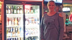 New owner Dee Jennings can often be found at the Chatterbox.