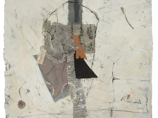BDeemer Gallery Sandra Phipps MacDiarmid Lost and Found 22X25 Mixed Media jpg