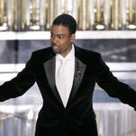 Oscar Host Chris Rock performs his monologue to open the 77th Academy Awards telecast in Los Angeles in 2005. Four black actors were nominated that evening. When Rock strides onto the Dolby Theatre stage on Feb. 28, he'll see no nominated African-American actors before him.