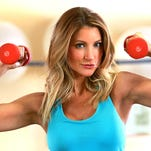 """McKinzie Roth, 33, says, """"I've never been a calorie counter or had a strict diet. For me it is all about how you feel."""""""