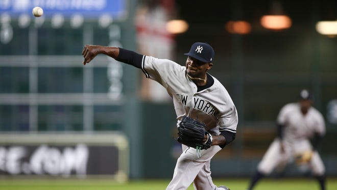 Right-hander Domingo German will make his first career start on Sunday against the Cleveland Indians at Yankee Stadium.