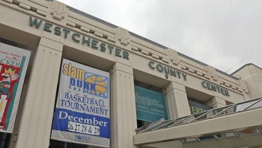 The exterior of the Westchester County Center.