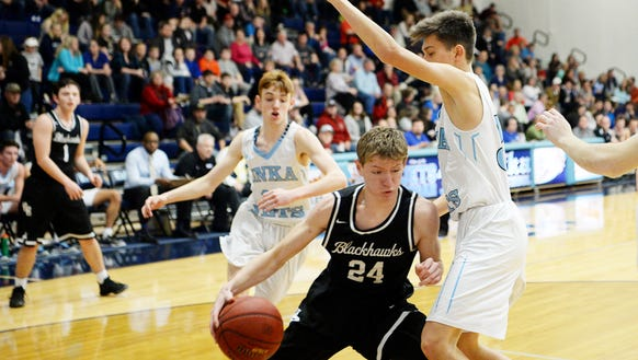 Enka defeated North Buncombe 79-69 February 9, 2018