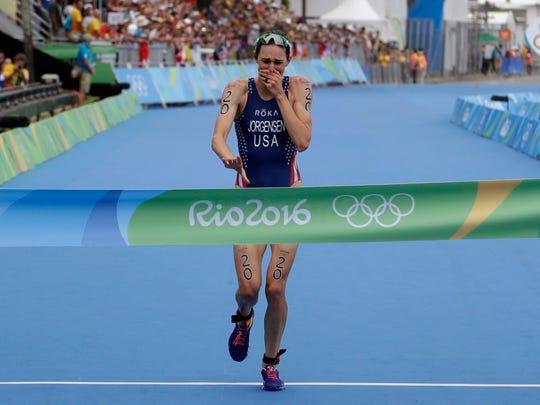Waukesha native Gwen Jorgensen won gold in the 2016 Rio Olympics.