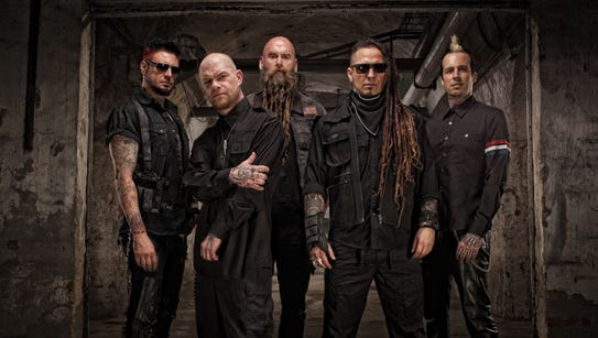 Five Finger Death Punch will headline the Jackson County