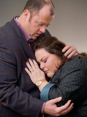 """Toby, played by Chris Sullivan, loves Kate, Chrissy Metz, on """"This is Us."""""""