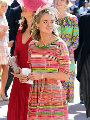 Another of Prince Harry's former girlfriends, Cressida Bonas.