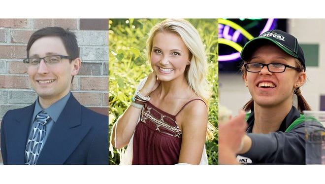 Jordan Graham, Halle VanHandel and Kaela Lundeen will chronicle their experiences tackling student debt.