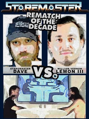 Staremaster Dave and Will Lemon will face off in a rematch during Pensacon.