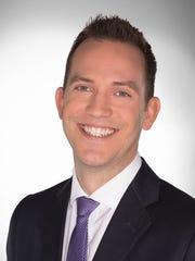 Headshot for former longtime News 2 meteorologist Justin