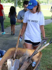 In the past, United Way has held such volunteer-supported activities as this community Day of Action.