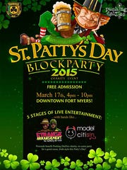 Downtown Fort Myers St. Patrick's Day Block Party