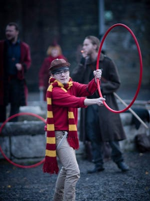 A participant at the College of Wizardry event  Nov. 13-16 in Poland.