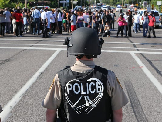 Your Say 0814 AP Police Shooting Missouri