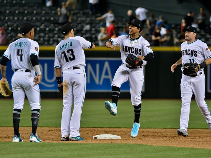 Jul 31, 2018: Arizona Diamondbacks shortstop Ketel