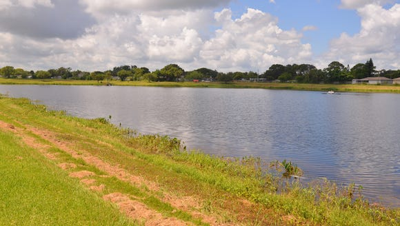 Bracco Pond, where five teens watched and laughed as