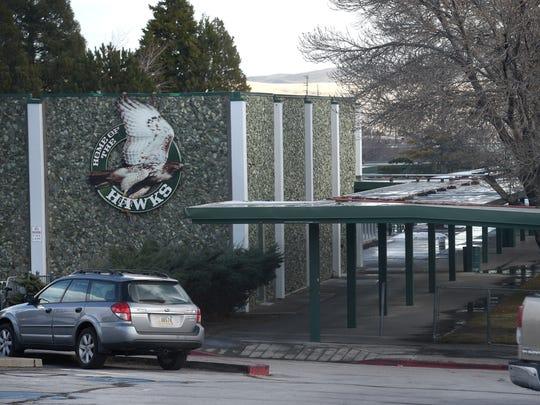Procter R. Hug High School is seen in Reno on Dec. 8, 2016.