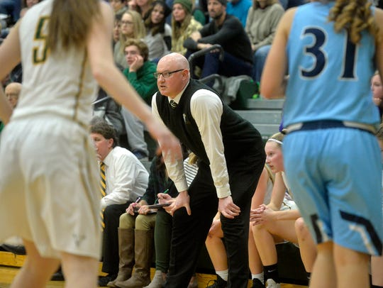 CMR's Brian Crosby is entering his sixth season coaching the Rustlers.