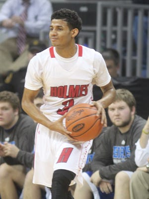 James Bolden led Holmes to a 61-37 win over Bishop Brossart Tuesday with a game-high 26 points.