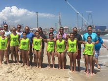 Nutley 12U United Soccer team hits the beach