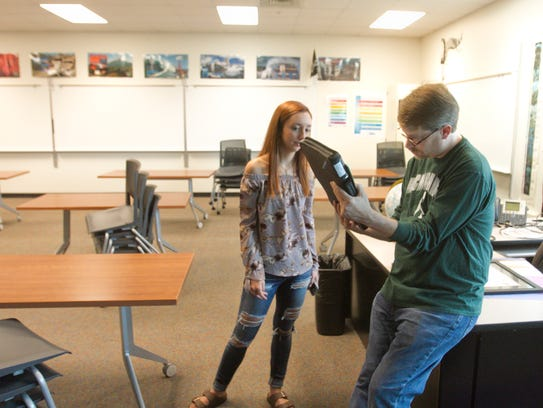Pinckney Community High School technology and English