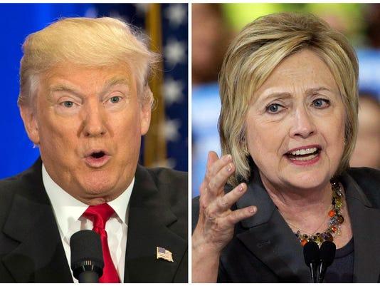 Donald Trump,Hillary Clinton
