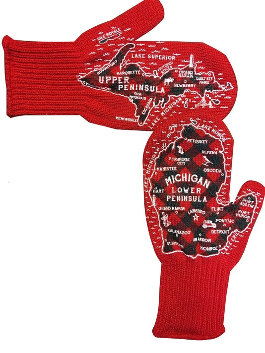 Gift of the Day Michigan Mittens