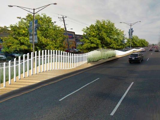coastal highway fences