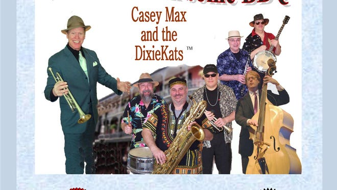 "Casey Max and the DixieKats' new CD, ""Struttin' With Some BBQ,"" will be released Tuesday for Mardi Gras."