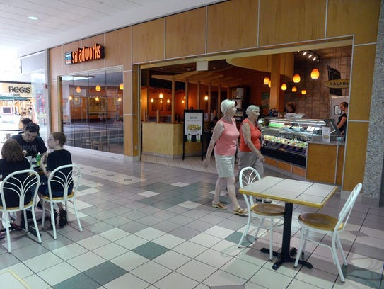 The Saladworks at the Cumberland Mall in Vineland was