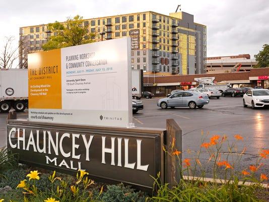 LAF bangert col chauncey hill mall history
