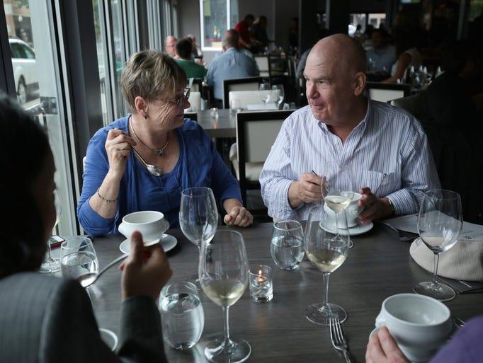Susan Parkar and Bill Parker, both of Leonard, MI,