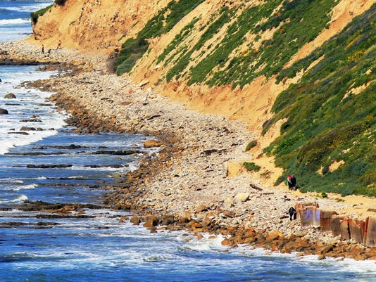 AP SOUTHERN CALIFORNIA BEACH EROSION A USA CA