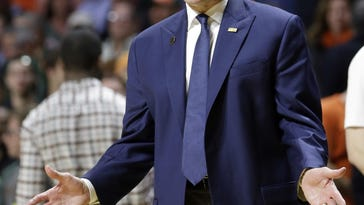 For the first time in more than eight years, Mike Krzyzewski's Blue Devils are on the outside looking in at The Associated Press Top 25 poll.