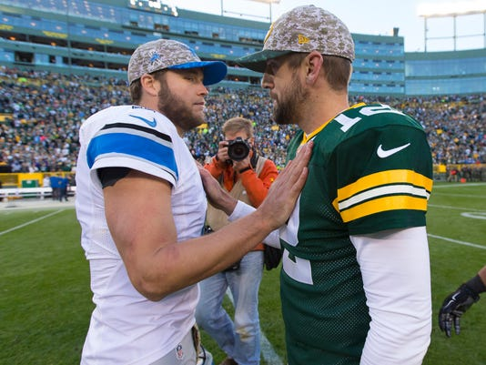 NFL: Detroit Lions at Green Bay Packers