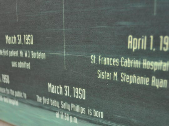 A timeline of Cabrini's history mentions the twins' friend Sally Phillips, the first baby born at the hospital.
