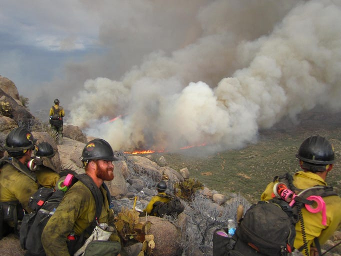 OUTFIT HOTSHOTS WITH GPS. If one of the Granite Mountain Hotshots had been carrying an inexpensive Global Positioning System device, the supervisors at the incident command post in Peeples Valley would not have lost track of the firefighters as the storm-whipped fire made a 90-degree turn toward them. They would have avoided the desperate search by air tankers seeking to drop retardant that might have saved their lives.