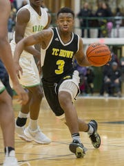 Howe senior Jamil Turner-Hall (3) is part of a high-powered