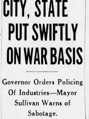 Indianapolis Star headline from Dec. 8, 1941