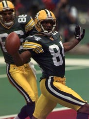 Andre Rison, MSU, WR: Super Bowl XXXI with the Packers.