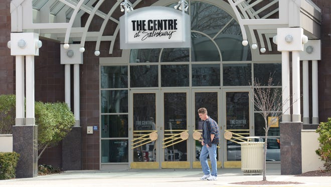 The Centre at Salisbury main entrance