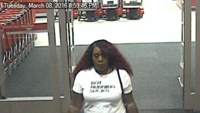 Cape Coral police suspect this woman of using a cloned credit card at a Target located at 1890 NE Pine Island Road on March 8.