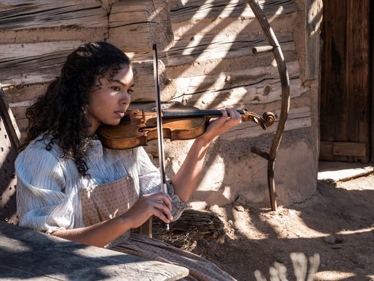 Jessica Sula plays Louise Hobbs, a resident of Blackdom,