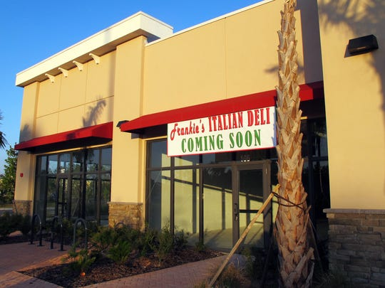 Frankie's Italian Deli is coming to the Commons on Collier retail strip in front of the Walmart store on Collier Boulevard south of U.S. 41 East.