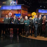 Record audience for Colbert finale