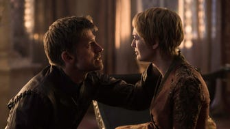 "Nikolaj Coster-Waldau and Lena Headey in ""Game of Thrones."""